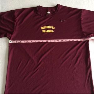 Nike Shirts - Nike Fit Dry 'Minnesota Volleyball' Maroon Shirt